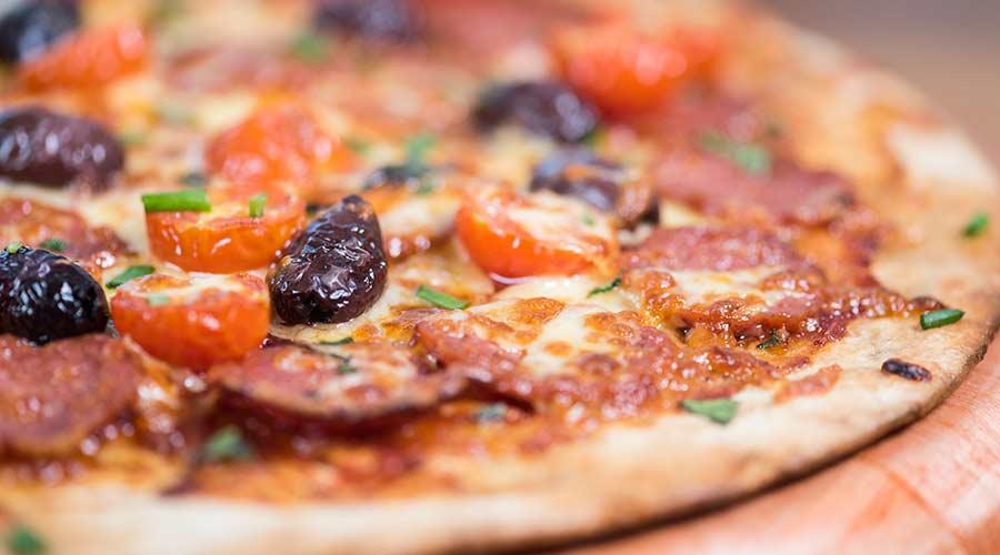 pizzas (lunch menu)